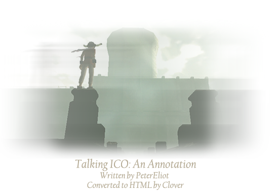 An annotated study of the game ICO