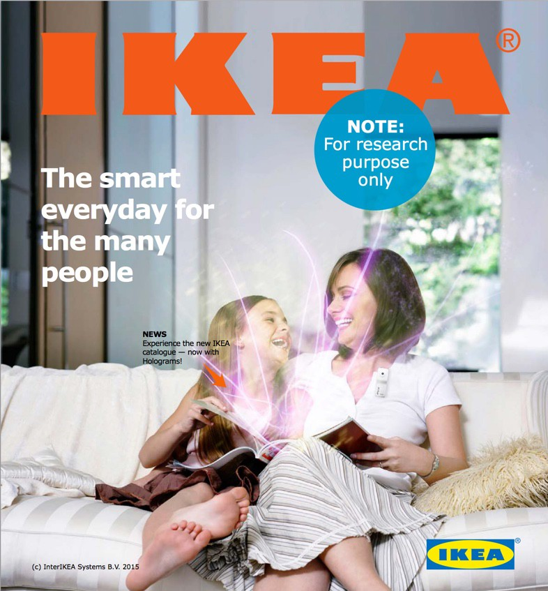 Design fiction: IKEA Catalog from the future